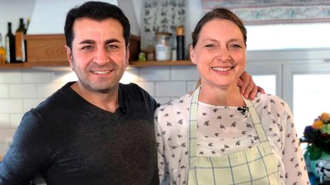 Ali Güngörmüs und Sybille Krick.