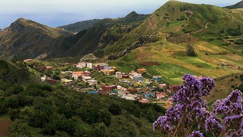 Blick auf das Hochland bei La Laguna.
