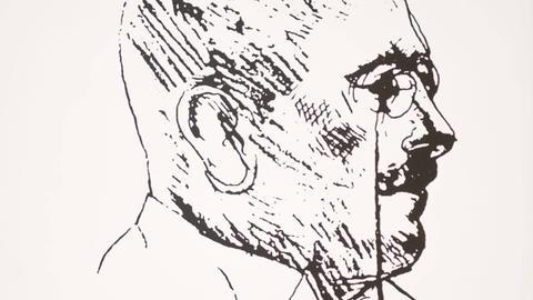 Portrait von Alois Alzheimer