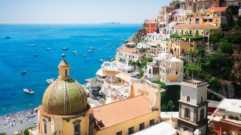 Ferragosto an der Amalfi-Küste.