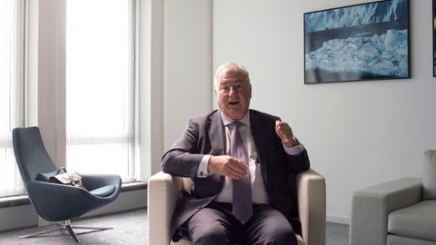 Andrew Gowers, zur Zeit der Lehman-Pleite leitete er die Kommunikationsabteilung der Investmentbank.
