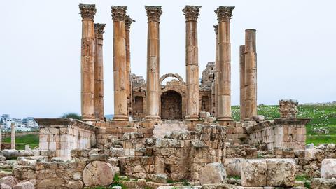 Der Artemistempel von Ephesos.