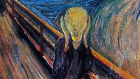 """Das Bild """"Der Schrei"""" von Edvard Munch"""
