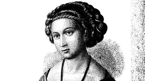 Mode im Mittelalter: Haartracht um 1500.