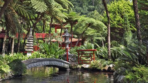 Monte Palace Tropical Garden auf Madeira.