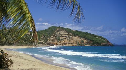 Strand der Insel Grenada