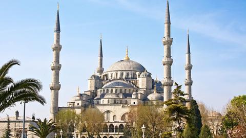 Die Hagia Sophia in Istanbul.