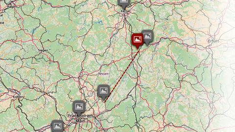 Hessen entdecken Story Maps Screenshot