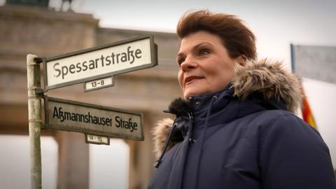 Gayle Tufts in Berlin auf den Spuren der Hessen