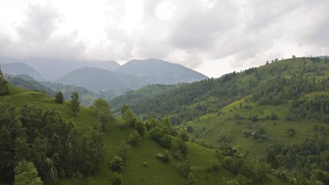 Landschaft bei Pestera, Rumänien.
