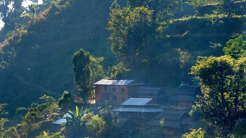 Chepang-Bergdorf in Nepal