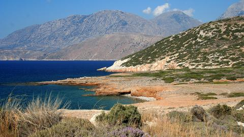 Lefka Ori-Gebirge auf Kreta