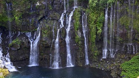 La Réunion_Naturwunder im Indischen Ozean_Wasserfall