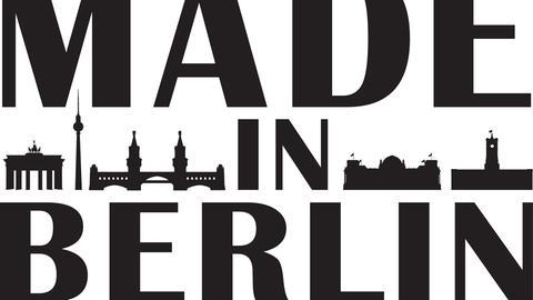 Schriftzug Made in Berlin