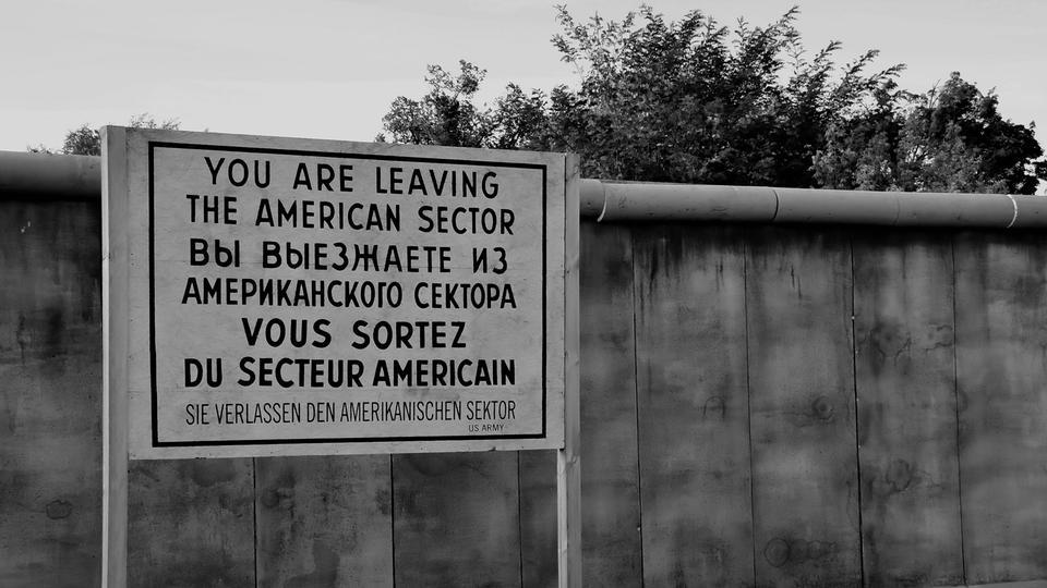 Mauerfall, Grenze