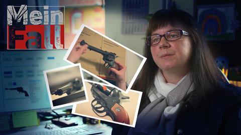 Polizeioberkommissarin Pfeiffer und der Schläger mit Revolver