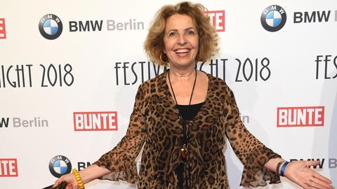 Michaela May auf der Berlinale im Jahr 2018.