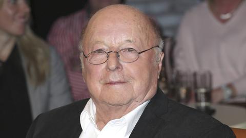 Norbert Blüm bei der Aufzeichnung der Radio Bremen Talkshow 3 nach 9 im Eventstudio im Weser-Haus Bremen.