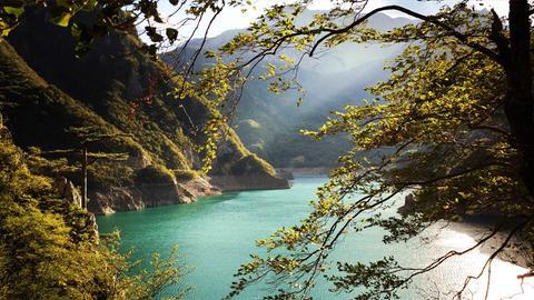 Landschaft in Montenegro