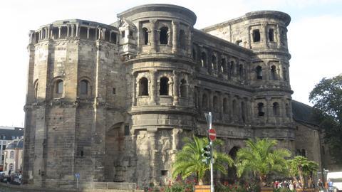 Die Porta Nigra in Trier.