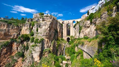 Die Puente Nuevo in Ronda.