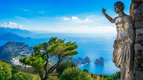 Capri - Sehnsuchtsziel im blauen Meer